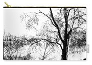 Lake - Tree  -  At The Lake By A Tree Carry-all Pouch