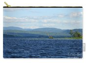 Lake Umbagog Choppy Waters Carry-all Pouch
