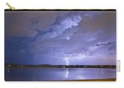 Lake View Lightning Thunderstorm Carry-all Pouch