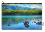 Lake View Of Mount Saint Helens  Carry-all Pouch