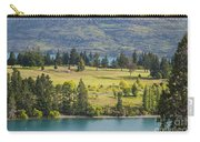 Lake Wakatipu And Queenstown Golf Course Carry-all Pouch