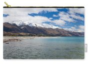 Lake Wakatipu And Snowy New Zealand Mountain Peaks Carry-all Pouch
