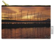 Lake Washington With Mount Rainier And Marina Carry-all Pouch