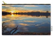 Memorial Park Sunset Carry-all Pouch