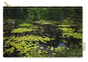 Lake With Lily Pads Carry-all Pouch