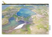 Lakes From The Seaplane In Katmai National Preserve-alaska Carry-all Pouch