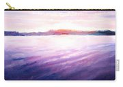 Lakeside Sunset Carry-all Pouch by Shana Rowe Jackson