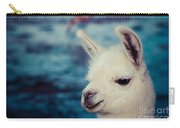 Lama On The Laguna Colorada In Bolivia Carry-all Pouch