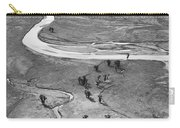 Lamar Valley Black And White Carry-all Pouch
