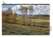 Lamar Valley In The Fall - Yellowstone Carry-all Pouch