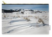 Lamar Valley Winter Scenic Carry-all Pouch