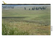Lamar Valley Yellowstone National Park Carry-all Pouch