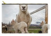Lamb On A Farm, Iceland Carry-all Pouch