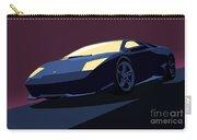 Lamborghini Murcielago - Pop Art Carry-all Pouch by Pixel  Chimp