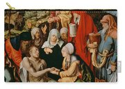 Lamentation For Christ Carry-all Pouch