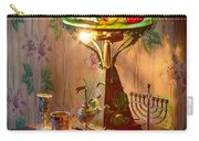 Lamp And Menorah Carry-all Pouch