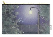 Lamp In The Rain Carry-all Pouch