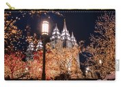 Lamp Post Slc Temple Carry-all Pouch