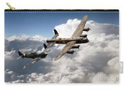Lancaster And Spitfire  Carry-all Pouch