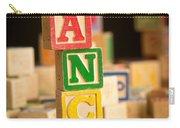 Lance - Alphabet Blocks Carry-all Pouch