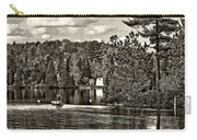 Land Of Lakes Sepia Carry-all Pouch