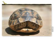 Land Turtle Hiding In Its Shell  Carry-all Pouch