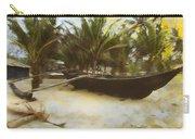 Kayak On Beach Carry-all Pouch