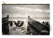 Landing At Normandy On D-day Carry-all Pouch