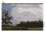 Landing Beyond The Trees Carry-all Pouch