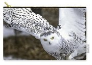 Landing Of The Snowy Owl Where Are You Harry Potter Carry-all Pouch