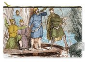 Landing Of The Vikings In The Americas Carry-all Pouch