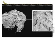 Landing Site On Comet 67pc-g In Context Carry-all Pouch