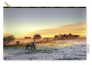 Landscape And Horse Carry-all Pouch