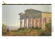 Landscape At Paestum Carry-all Pouch