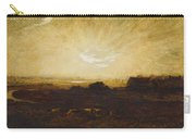 Landscape At Sunset Carry-all Pouch by Marie Auguste Emile Rene Menard