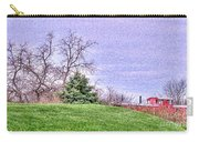 Landscape- Caboose - Little Red Caboose Carry-all Pouch