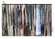 Landscape Forest Trees Carry-all Pouch