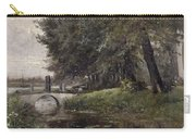Landscape In Nijmegen. Netherlands Carry-all Pouch