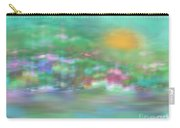 Landscape In Pastel Colors Carry-all Pouch