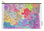 Landscape Of Color Carry-all Pouch