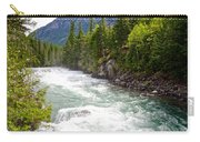 Landscape Of Mcdonald Creek Upstream In Spring In Glacier Np-mt Carry-all Pouch
