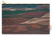 Landscape Of Rolling Farmland Steptoe Butte Washington Art Prints Carry-all Pouch