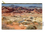 Landscape Of Valley Of Fire State Park Carry-all Pouch