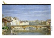 Landscape Oil On Canvas Carry-all Pouch