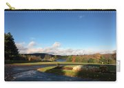 Landscape Skyview Early Morning Poconos Pa Usa America Travel Tour Vacation Peaceful Carry-all Pouch
