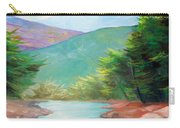 Landscape With A Creek Carry-all Pouch
