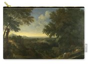 Landscape With Abraham And Isaac Carry-all Pouch