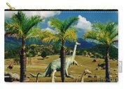 Landscape With Dinosaurs Carry-all Pouch