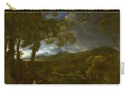 Landscape With Elijah And The Angel Carry-all Pouch