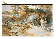 Landscape With Palmettos Carry-all Pouch